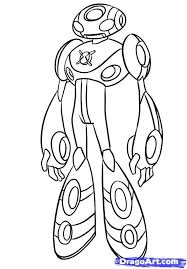 Ben 10 Ultimate Alien Coloring Pages 112
