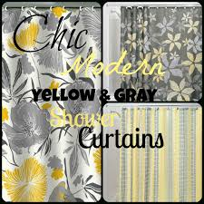 Walmart Mainstays Chevron Curtains by Lovely Gray And Yellow Chevron Shower Curtain About Mainstays