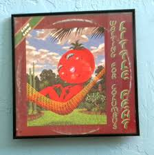 Little Feat Fat Man In The Bathtub by Framed Vintage Record Album Cover U2013 Little Feat U2013 Waiting For