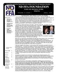 Rheault Farm Pumpkin Patch Fargo Nd by Nd Ffa Foundation Spring 2015 Newsletter By Nd Ffa Issuu