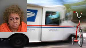 100 Who Makes Mail Trucks Florida Woman Who Claimed To Be God Robs Mail Truck Flees On