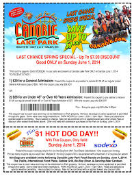 Canobie Lake Park Coupons | Printable Coupons DB 2016