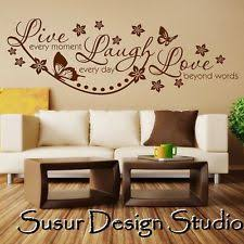 Wall Stickers Quotes Live Laugh Love Art Room Decal Mural Transfer SVIL055