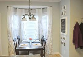 Dining Room Bay Window With Curtains Instructions To Measure