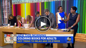 Adult Coloring Book CBS Segment