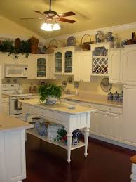 French Country Kitchen FYI The Cabinets Are A Slightly Off White Color They Have