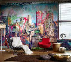 7 graffiti wohnzimmer ideen graffiti graffiti tapete