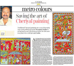 Famous Kerala Mural Artists by Indian Heritage Paintings Of India