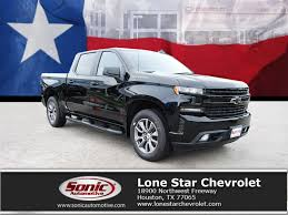 100 Truck For Sale Houston New 2019 Chevrolet Silverado 1500 RST BLACK WHEELS In