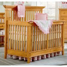 BassettBaby American Home 4 in 1 Crib Honey Pine