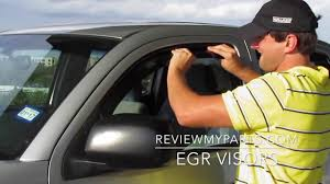 100 Truck Window Visors Review Install EGR In Channel 2008 Toyota Tacoma