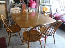 ERCOL SQUARE DINING TABLE & 6 HOOP BACKED CHAIRS IN ... Set Of Two Mid Century Modern Accent Chairs In Blonde Oak And Black Find More Table With Leaf 4 150 Poos New Price Shop Copper Grove Siuslaw Finished Ding Chair 2 Riga 5 Pce Suite Focus On Fniture Simpli Home Draper 7piece With 6 Upholstered Crown Range Ltd Scanstywheorblackdingchairwithnaturaloaklegs New Nord 79500 Port Extendable By Harry Ostergaard The Vintage Room Room Ideas Ladder Back