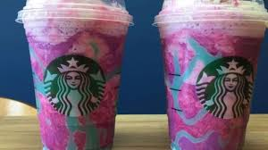 Have You Heard About Starbucks Unicorn Frappuccino The Brightly Colored Staggeringly Sweet Treat That Earned Coffee Chain Headlines Both Positive