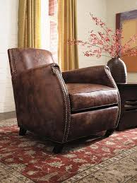 Stickley Furniture Leather Recliner by Stickley Leather Club Chairs Traditions At Home