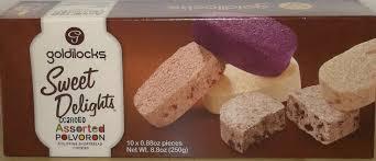 goldilocks sweet delights assorted polvoron 250g