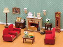 Sylvanian Families Deluxe Pleasing Living Room Set
