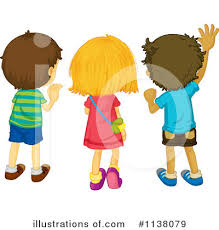 Royalty Free RF Goodbye Clipart Illustration by Graphics RF