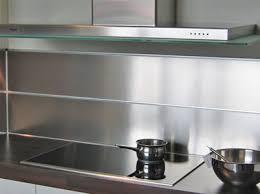 crédence cuisine à coller sur carrelage carrelage metro inox great mosaique inox cuisine mosaique inox