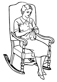 Free Vector Art: Knitting Rocking Chair | Images From Ephemeraphilia ... Vintage Crewel Embroidery Pattern Wooden Rocking Chair Knitting Burwood Wall Art Of With Bowl Yarn Rocking Chair Yoko No Wdka Online Shop With Plaid And For Near Grandma Sitting Stock Photo Edit Now Pregnant Woman Stock Photo Image Attractive Green 45109220 Auguste Edouart French 17891861 Silhouette Of A Woman Seated In Menu Ambientedirect Royal Doulton Twilight Hn2256 Old Knitting Ingenious Hats While Reading Fubiz Media Smiling Woman On Balcony Menus Serves Not Only Knitters But Also Bookworms