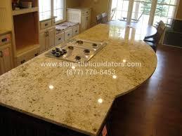 colonial gold 3cm polished granite slab
