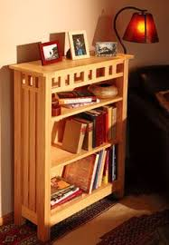 stickley bookcase woodworking projects american woodworker