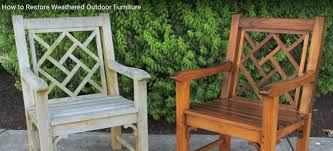 Cool Weathered Teak Outdoor Furniture How To Restore
