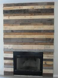 My Fireplace Surround Made Out Of Pallets FREE
