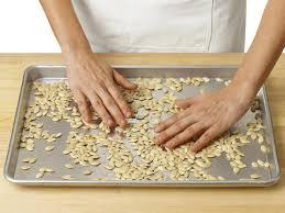 Are Pumpkin Seeds Called Pepitas by How To Roast Pumpkin Seeds Plus 4 Flavoring Ideas Food Network