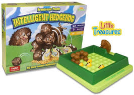 Intelligent Hedgehog Escape From Badgers Board Game Brainteaser Puzzle