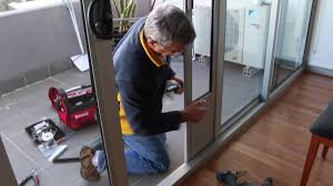 Doggie Door Insert For Patio Door by Pet Door Insert Installation In Double Sliding Doors With Wheels