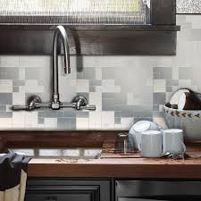Amazoncom HomeyStyle Peel And Stick Tile Backsplash For Kitchen