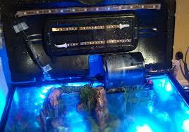 led aquarium light controller bret s interactive aquarium with rgb led lights elemental led