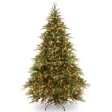 Prelit Feel Real Weeping Spruce Christmas Tree 75ft