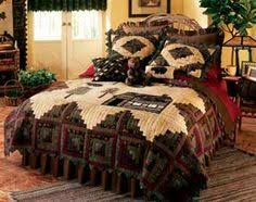 Details about Red Country Patchwork Twin Queen Cal King Oversized