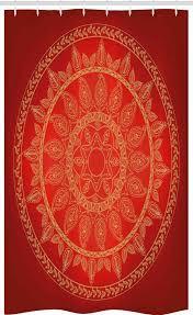 abakuhaus duschvorhang badezimmer deko set aus stoff mit haken breite 120 cm höhe 180 cm mandala osmanische motive stil kaufen otto