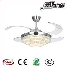 Retractable Blade Ceiling Fan by East Fan 42inch Invisible Ceiling Fan With Light Item Ef42234