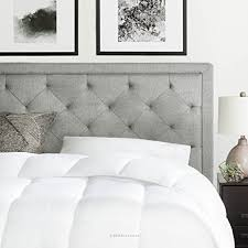 Amazon King Tufted Headboard by Amazon Com Brookside Upholstered Headboard With Diamond Tufting