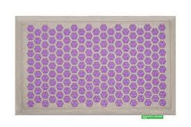 pranamat eco purple lotus and linen axis modal