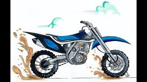 Drawing A Dirt Bike Part Of Draw With Me Stream