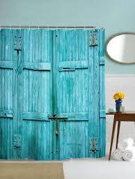 Curtain Materials In Sri Lanka by Bathroom Accessories Door Print Fabric Shower Curtain Lake Blue