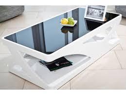 couchtisch weiß hochglanz 120 x 60 cm glas wohnzimmertisch ventura