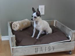 How To Build A End Table Dog Crate by 14 Adorable Diy Dog Bed Cheap Pet Beds