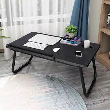 areout klapptisch areout faltbare laptoptisch fürs bett verstellbarer notebooktisch lapdesks für lesen oder frühstücks mit getränkehalter