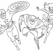 Coloring Pages Free Superhero Printable Marvel