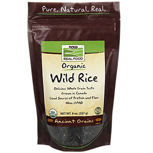 Now Foods Organic Wild Rice - 8oz