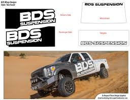 100 Truck Suspension Logos BDS