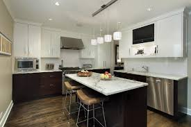 kitchen island track lighting home design interior and exterior
