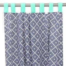 Navy Geometric Pattern Curtains by Sale Kid U0027s Curtains Caden Lane