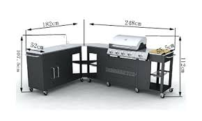 cuisine barbecue gaz meuble barbecue exterieur barbecue gaz inox grand meuble cuisine