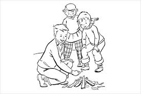 Free Printable Camping Coloring Pages For Kids